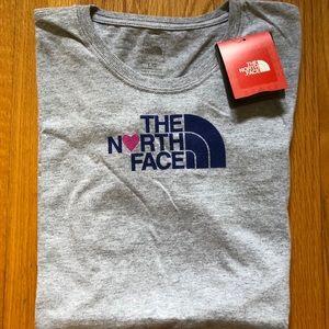 The North Face Love Ladies Cut Tee-NWT